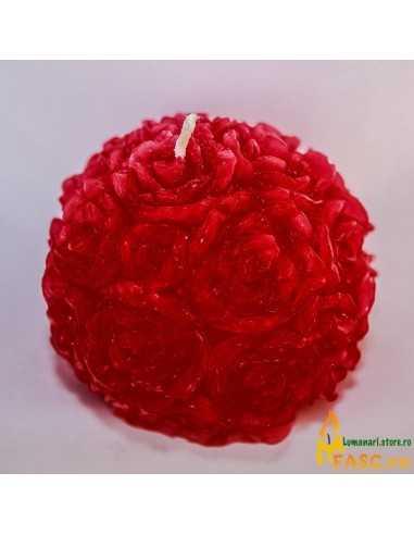 Lumanari Rose din Rubin Lumanari Decorative