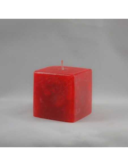 Lumanari Cubix Mic din Rubin Lumanari Decorative FASC