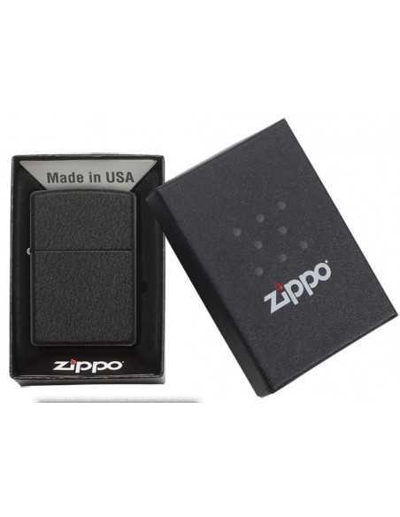 Zippo Black Crackle Brichete Zippo Zippo Manufacturing Company