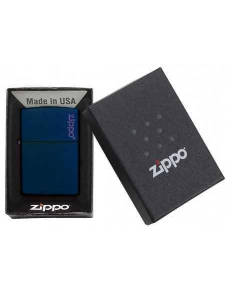 Zippo Navy Matte Logo Brichete Zippo Zippo Manufacturing Company