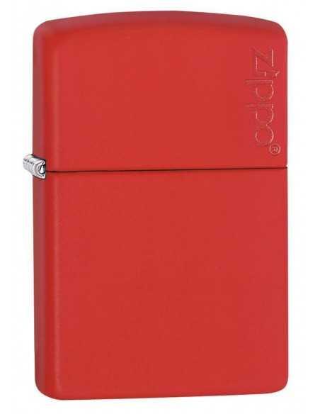 Zippo Red Matte Logo Brichete Zippo Zippo Manufacturing Company