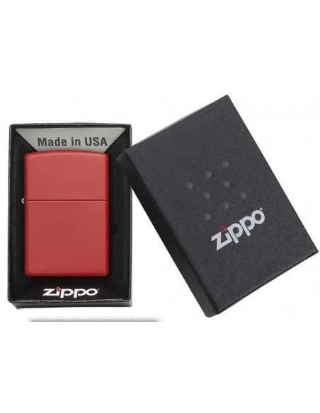 Zippo Red Matte Brichete Zippo Zippo Manufacturing Company