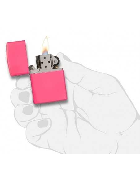Zippo Neon Pink Brichete Zippo Zippo Manufacturing Company