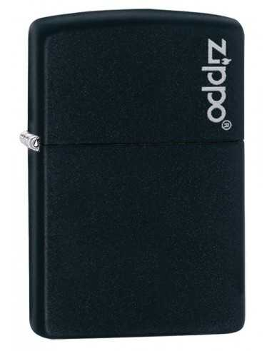 Zippo Black Matte Logo Brichete Zippo Zippo Manufacturing Company