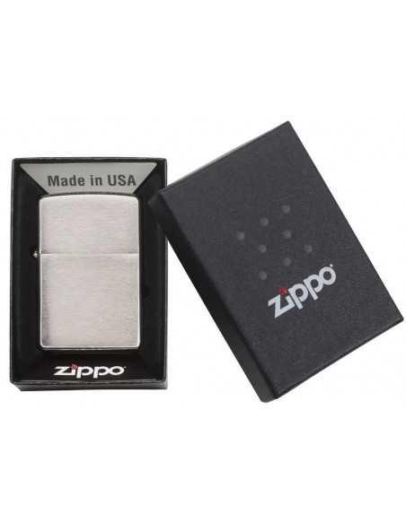 Zippo Brushed Chrome Brichete Zippo Zippo Manufacturing Company
