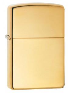 Zippo High Polish Brass Solid Brass Brichete Zippo Zippo Manufacturing Company