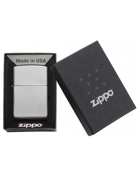 Zippo High Polish Chrome Brichete Zippo Zippo Manufacturing Company