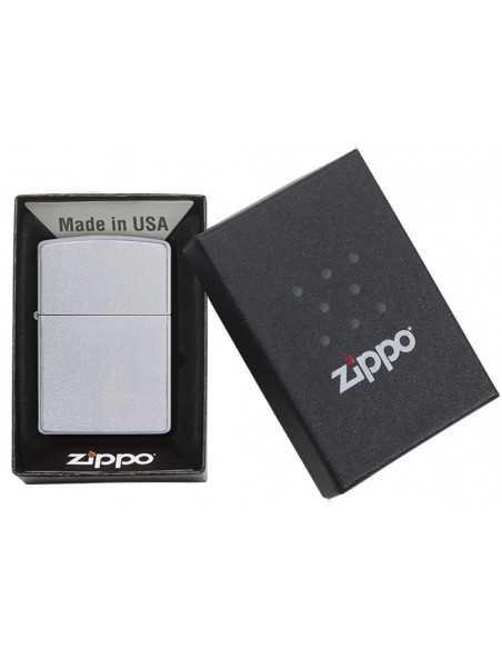 Zippo Satin Chrome Brichete Zippo Zippo Manufacturing Company