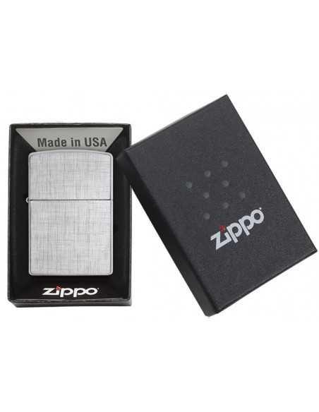 Zippo Linen Weave Brichete Zippo Zippo Manufacturing Company