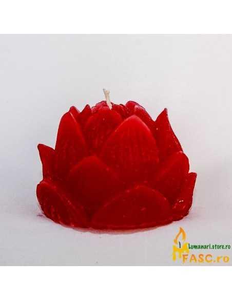 Lumanari Lotus din Rubin Lumanari Decorative FASC