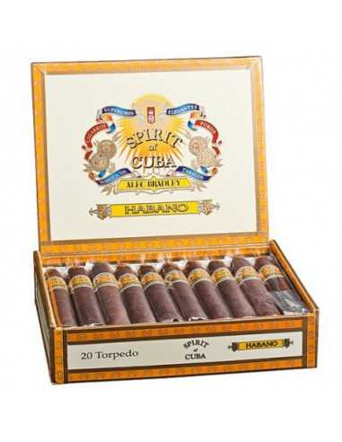 Alec Bradley Spirit of Cuba Habano Torpedo 20 Alec Bradley Alec Bradley Cigar
