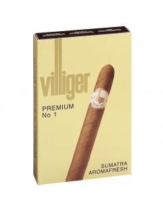 Villiger Premium No 1 Sumatra (5) Tigari de Foi Villiger