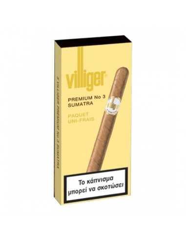 Villiger Premium No 3 Sumatra (5) Tigari de Foi Villiger
