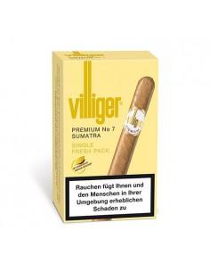 Villiger Premium No 7 Sumatra (5) Tigari de Foi Villiger