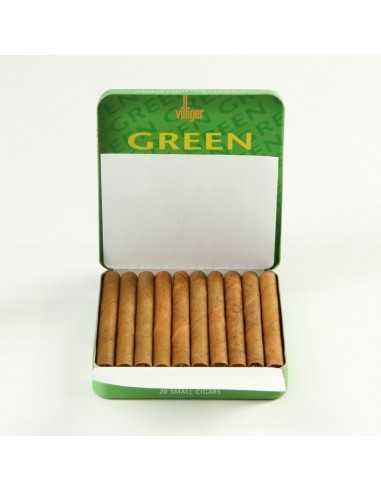 Villiger Green Mini Filter 10 Cigarillos Villiger