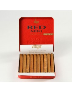Cigarillos, Villiger Red Mini Filter 10
