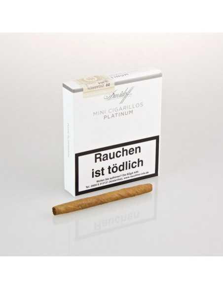 Davidoff Mini Cigarillos Platinum 20 Cigarillos Davidoff
