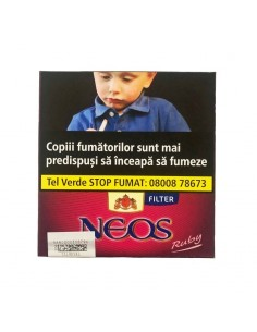 Neos Red Ruby Filter Cirese 10 Cigarillos