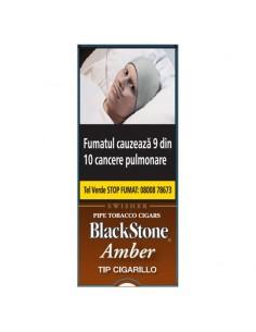 Blackstone Tip Cigarillos Amber 5 ( Piersica ) Cigarillos