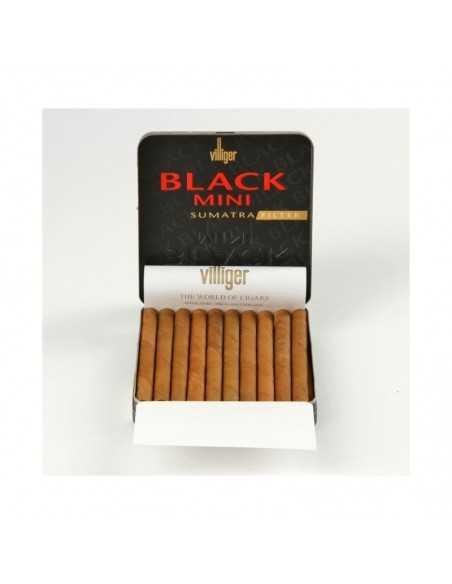 Villiger Black Mini Filter Sumatra 10 Cigarillos Villiger