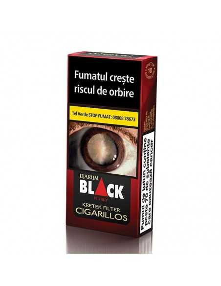 Djarum Black Ruby 10 Cigarillos