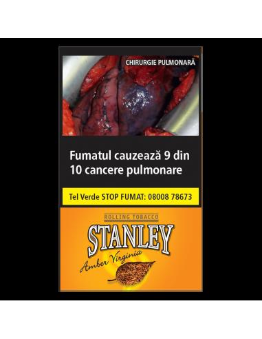 Tutun tigari Stanley Amber Virginia (35g) + Foite Tutun de Rulat