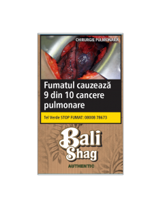 Tutun tigari Bali Authentic (Nature) (35g) + Foite Tutun de Rulat