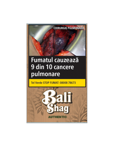 Tutun de Rulat, Tutun tigari Bali Authentic (Nature) (35g) +