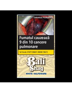 Tutun de Rulat, Tutun tigari Bali White Halfzware (40g) + Foite