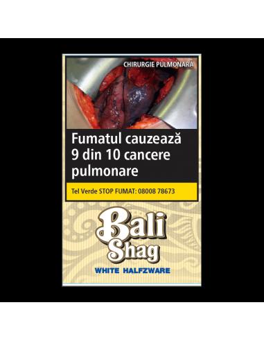 Tutun tigari Bali White Halfzware (40g) + Foite Tutun de Rulat