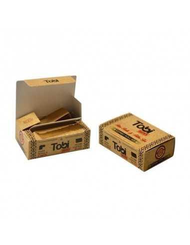 Foita in rola 5m Brown + Filtre Carton Tobi Foite de Rulat Tobi