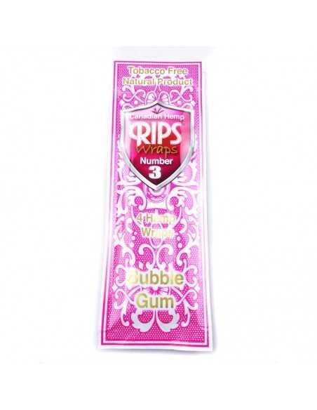 Wraps No.3 Bubble Gum Rips Foite de Rulat Rips