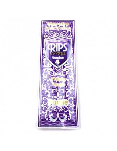 Wraps No.4 Purple Rips Foite de Rulat Rips