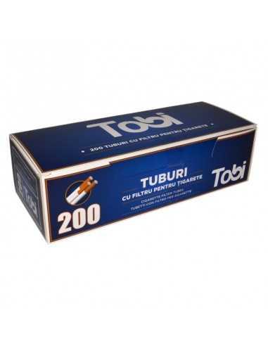 Tuburi cu filtru pentru tigarete TOBI 200 Tuburi Tigarete Tobi