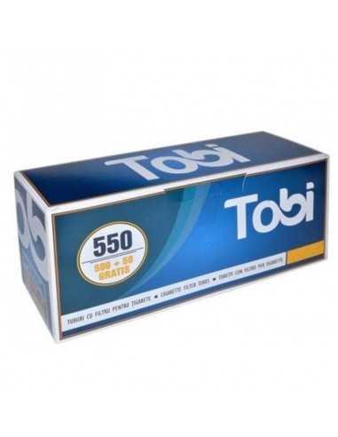 Tuburi cu filtru pentru tigarete TOBI 550 Tuburi Tigarete Tobi
