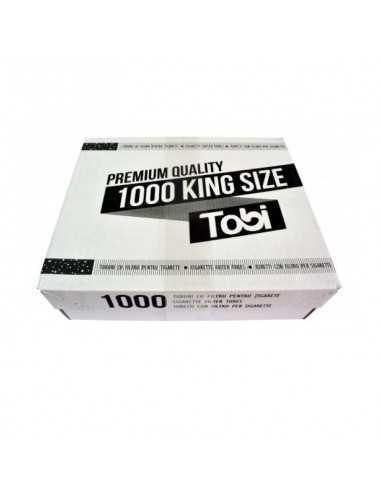 Tuburi cu filtru pentru tigarete TOBI 1000 Tuburi Tigarete Tobi