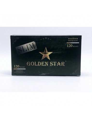 Tuburi cu filtru pentru tigarete Slim Golden Star 120 Tuburi Tigarete