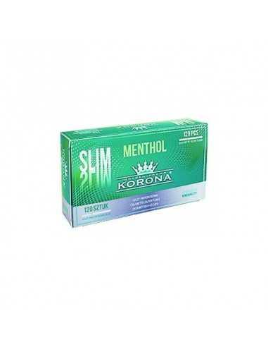 Tuburi cu filtru pentru tigarete Slim Menthol Korona 120 Tuburi Tigarete