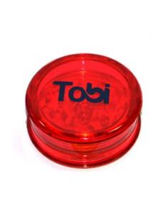 Grinder simplu Tobi Rosu Grinder Tobi