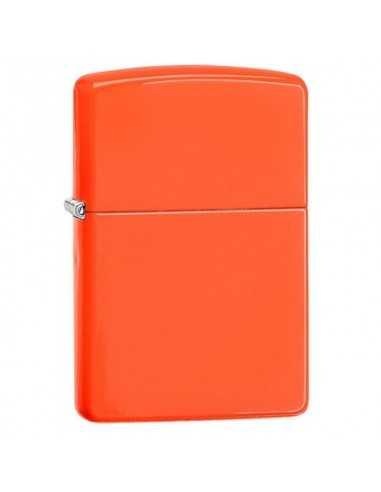 Zippo Neon Orange Brichete Zippo Zippo Manufacturing Company