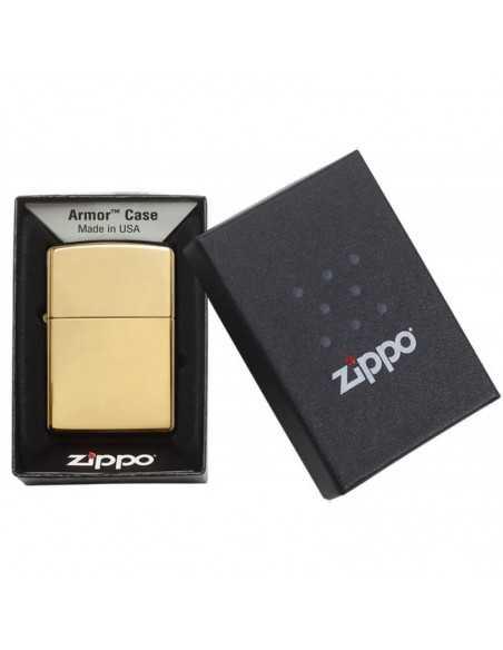 Zippo Armor High Polish Brass Brichete Zippo Zippo Manufacturing Company