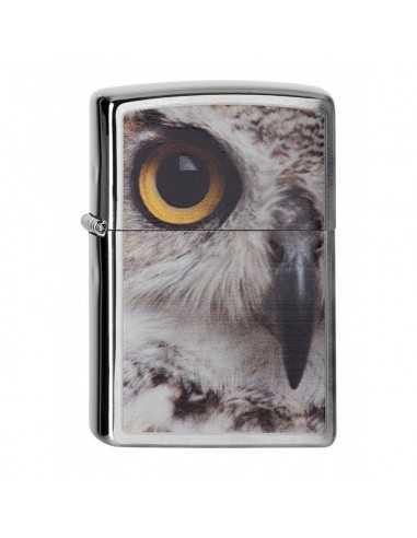 Zippo Owl Face Brushed Chrome Brichete Zippo Zippo Manufacturing Company