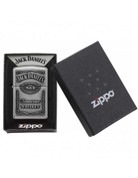 Zippo High Polish Chrome Jack Daniels Brichete Zippo Zippo Manufacturing Company