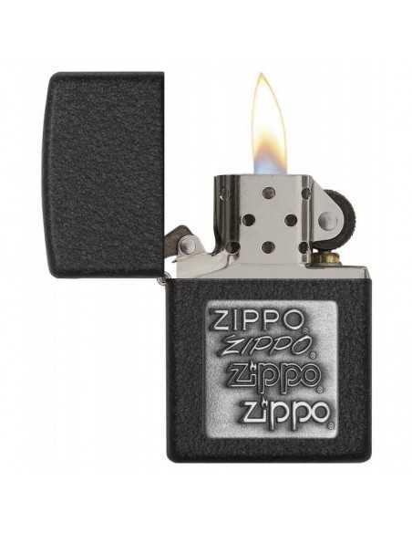 Zippo Black Crackle Pewter Brichete Zippo Zippo Manufacturing Company