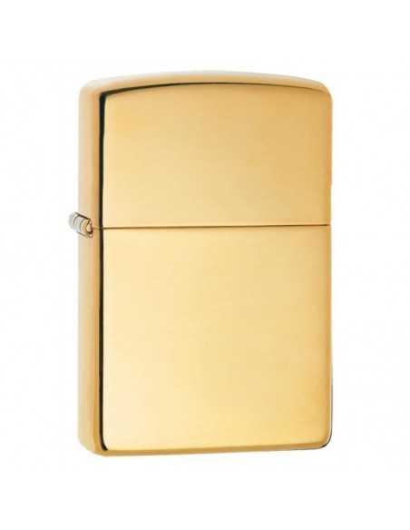 Zippo High Polish Brass Brichete Zippo Zippo Manufacturing Company