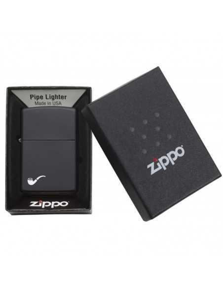 Zippo Black Matte pentru pipa Brichete Zippo Zippo Manufacturing Company