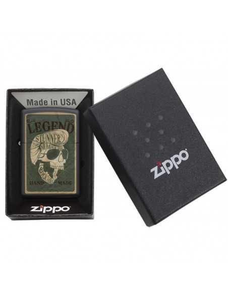 Zippo Legendary Skull Design Brichete Zippo Zippo Manufacturing Company