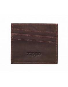 Suport Zippo pentru Carduri Piele Maro Deschis Portofele Zippo Manufacturing Company