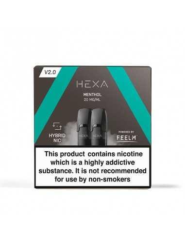 Pod HEXA 2.0 – Menthol Cartuse pods
