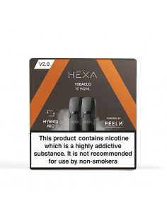 Pod HEXA 2.0 – Tobacco Cartuse pods